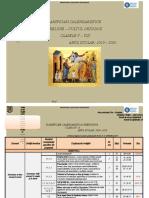 20192020 Planificari Calendaristice Clasele v Viii