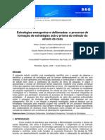Texto 3° debate - Estratégias Deliberadas x Estratégias Emergentes