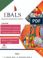 Fizcalización Laboral y Actuaciones Inspectivas POST COVID-19