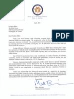 Brnovich Letter to Biden on Vaccine Push