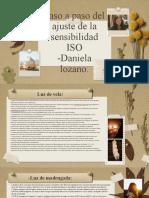 Ajustes de la sensibilidad ISO-Sena-Daniela