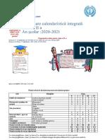 Planificare Calendaristica Integrata Clasa a II a 2