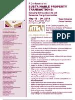 RTM V11 March 1 Conference Brochure Updated