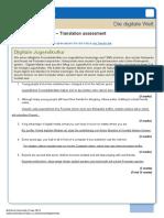Unit 2 assessment Translation into Germanr (1)