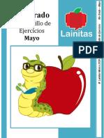 6to Grado - Cuadernillo de Ejercicios (Mayo)