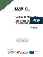 manual UFCD 9821 Produtos Financeiros Básicos