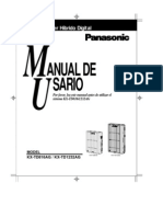Manual de usuario KX-TD816AG  KX-TD1232AG
