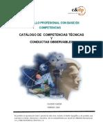 Catálogo de Competencias Técnicas ATLANTIDA INTERNACIONAL C.A._Feb 2009