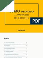 E-BOOK Como Melhorar Suas Apresentaes de Projeto