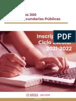 300 Secundarias Publicas de la CDMX