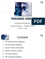 Training Vision - Implementation