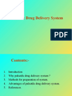 Pulsatile Drug Delivery System