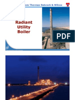 Sub Critical Utility Boilers