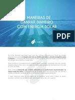 4 Maneiras de Ganhar DInheiro com Energia Solar - Copia