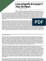 Elementos Para Una Cartografía de Lo Grupal __ Peter Pál Pelbart – Lobo Suelto!