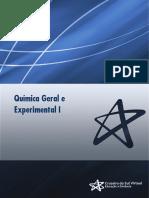 Química Geral e Experimental I - I Unidade