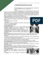 12. Afecções pleuro pulmonares na criança - 18.08 e 29.08