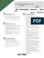Fgv 2019 Mpe Rj Analista Do Ministerio Publico Processual Prova