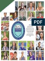 Columbus Dispatch Scholar Athlete section