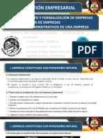 Gestión Empresarial - 1ra Exposición Dbcp