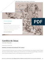 2021_carolina de Jesus Historias e Territorios Das Mulheres Afrolatinas