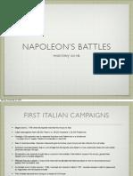Napoleon's Battles