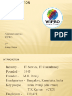 Wipro Financial Report