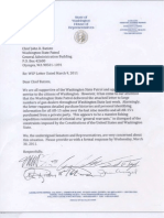 Missing WSP AR-15 Rifle Letters