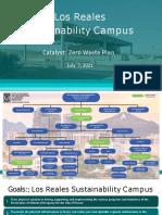 Los Reales Sustainability Campus Presentation