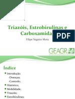 FUNGICIDAS (Trazóis, Estrobirulina e Carboxamidas)