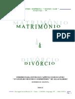 Matrimônio & Divórcio