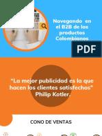 Navegando en El B2B de Los Productos Colombianos
