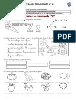 COMUNICACIÓN - La Consonante Z, Ce- Ci y Sílabas Inversas (1)