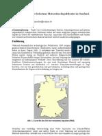 Ein möglicher Meteoritenkrater im Saarland