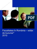 Fiscalitatea in Romania 2010