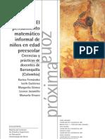 3_el Pensamiento Matematico Informal de Ninos en Edad Prescolar