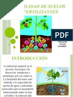 Fertilidad de suelos y fertilizantes
