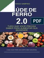 e Book Saude Ferro 2.0 Dieta Crua