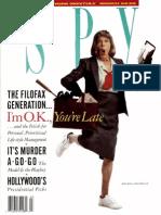 Spy Magazine March 1988