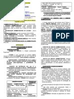 ROTEIRO DE DIREITO ADMINISTRATIVO IPC 16Ago10 PROCESSUS