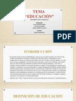 TEMA EDUCACION  EN EL PERU (1)