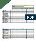 POP &  Painting Checklist