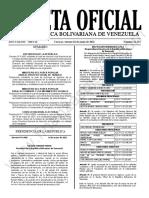 Gaceta Oficial N°42.152