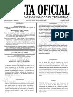 Gaceta Oficial N°42.158
