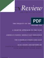 Policy Review, April & May 2011, No. 166