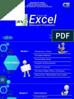 Presentación Curso de Excel Modulo I Rev.I