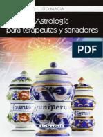 585. - Astrologia Para Terapeutas y Sanadores. - Tito Macia