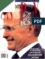 Spy Magazine October 1989