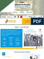 Webinar APEFAM - Eliminación de aerosoles infecciosos en oficinas