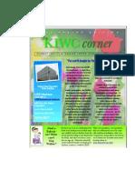 KIWC Newsletter Spring DRAFT